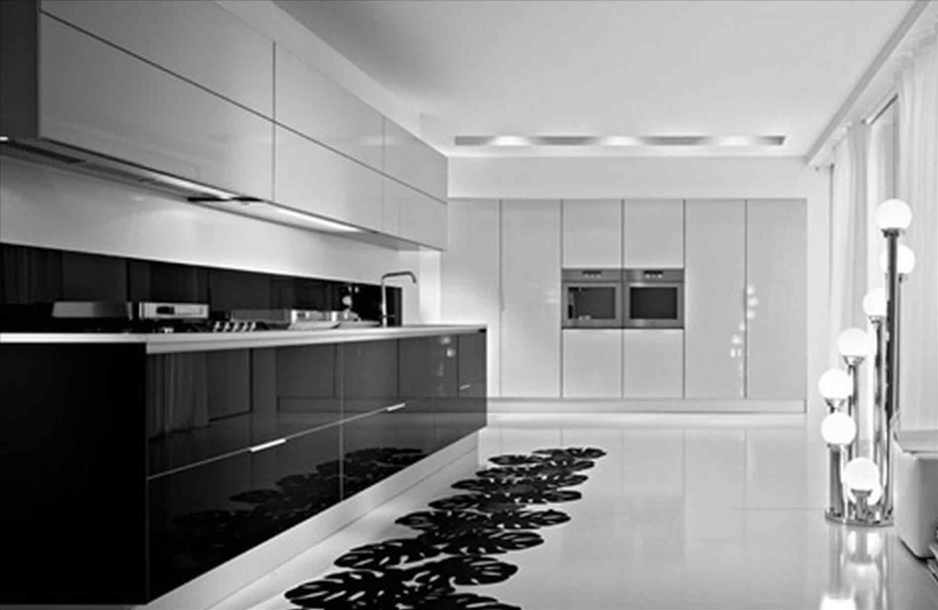 Awesome 13 Black Shiny Kitchen Cabinets Ideas For Stunning Kitchen Breakpr Modern Kitchen Furniture Kitchen Furniture Design Gloss Kitchen Cabinets