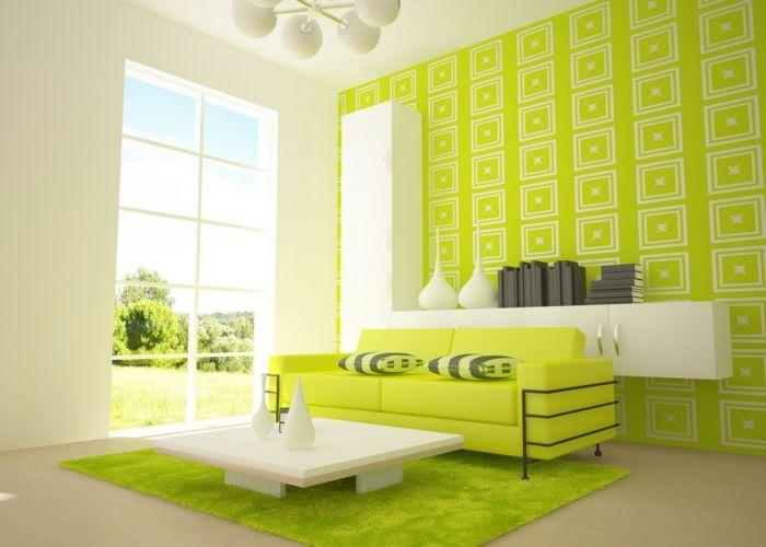 Wanddesign wohnzimmer ~ Farbgestaltung wohnzimmer wandgestaltung wanddesign hysterisch
