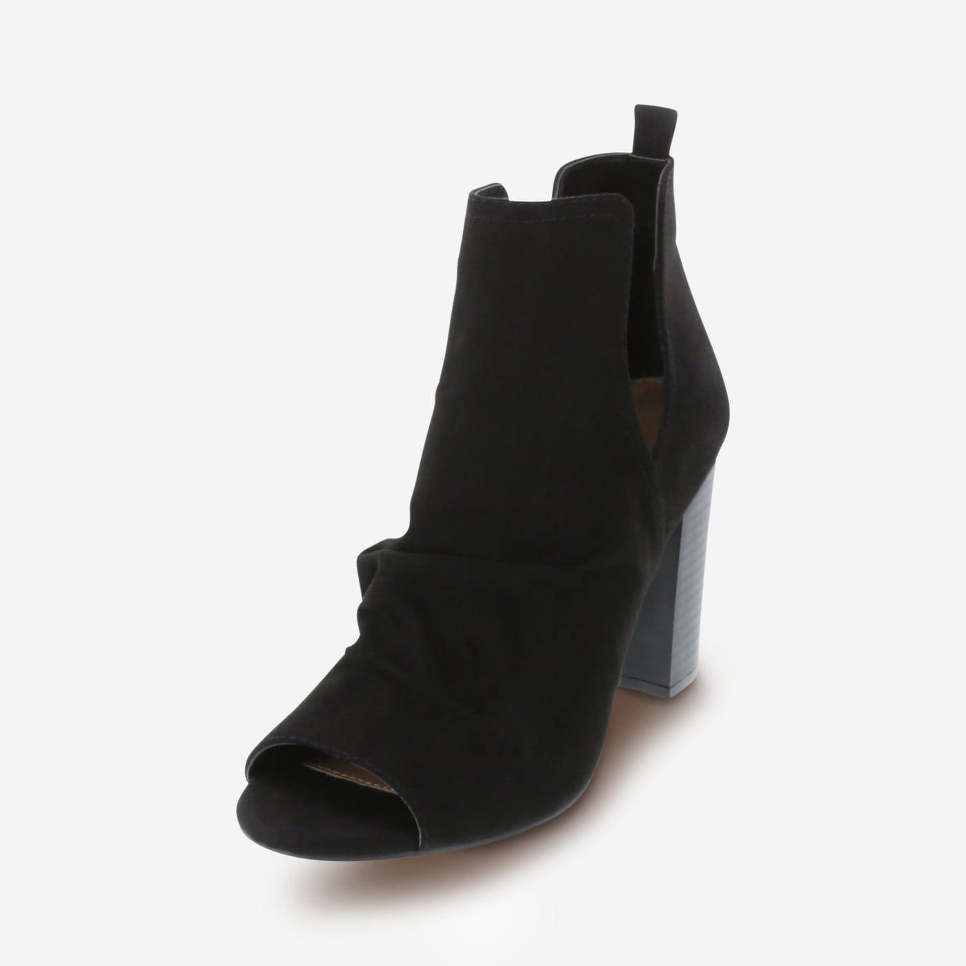 Brash Samika Women's Peep-Toe Boot Shoe