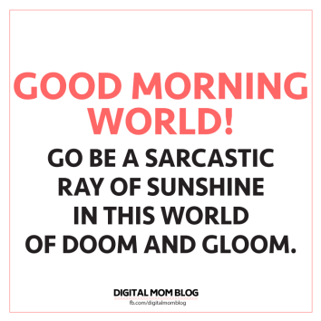 Sarcastic Ray Of Sunshine Funny Morning Memes Morningmemes Memes Funny Lol Funnymemes M Funny Good Morning Memes Good Morning Meme Morning Quotes Funny
