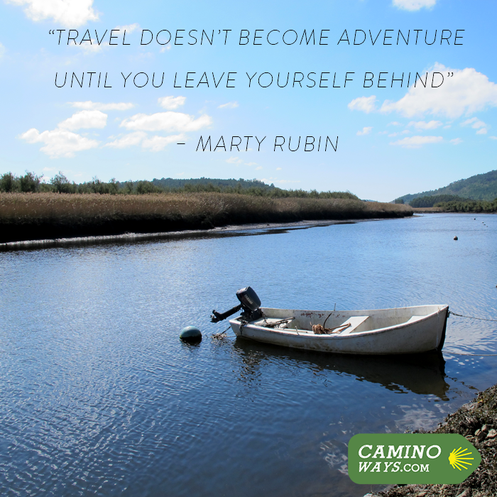 """""""Travel doesn't become adventure until you leave yourself behind"""" - Marty Rubin #Adventure #Wanderlust #Travel #Quote"""