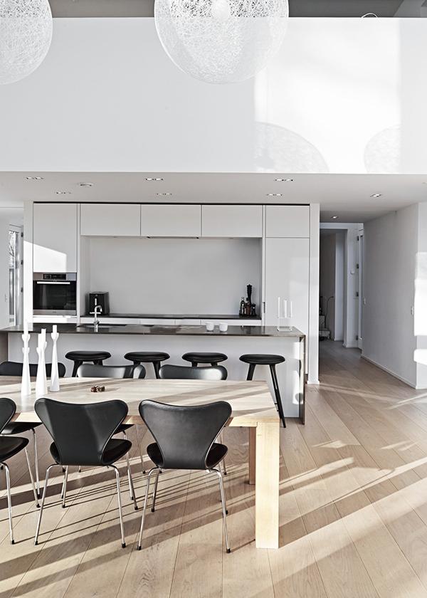 *wood, black, white, thue krog andersen architects