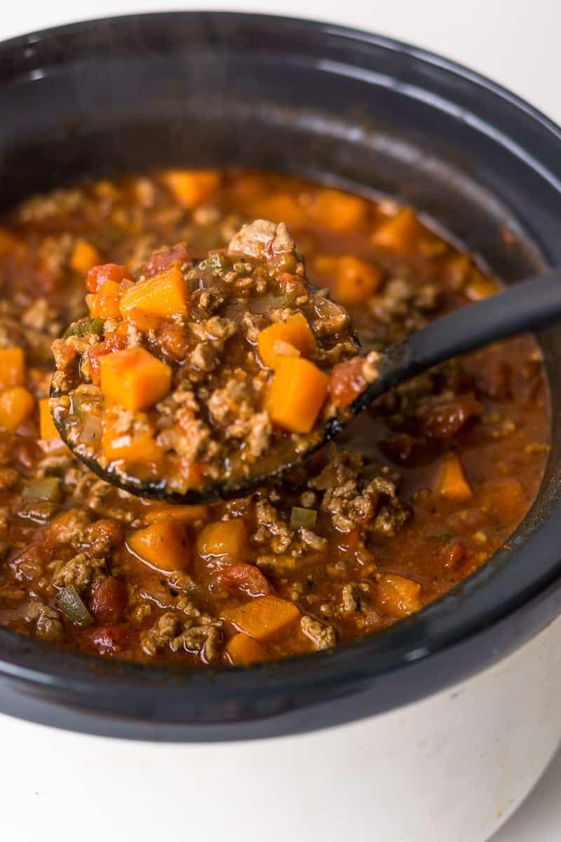 Whole30 Slow Cooker Chilli | Recipe | Crockpot recipes ...