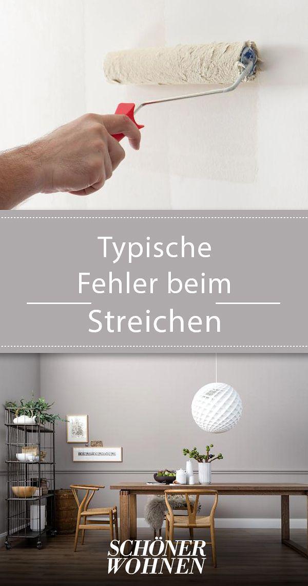 diese fehler sollten sie beim w nde streichen vermeiden pinterest fehler vermeiden und. Black Bedroom Furniture Sets. Home Design Ideas