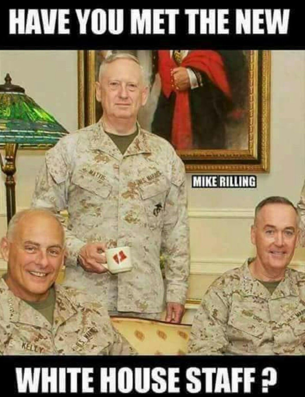 Finally Someone With Balls Is In There Last 8 Years I Was Thinking Wtf A Cathouse Marine General Military My Marine