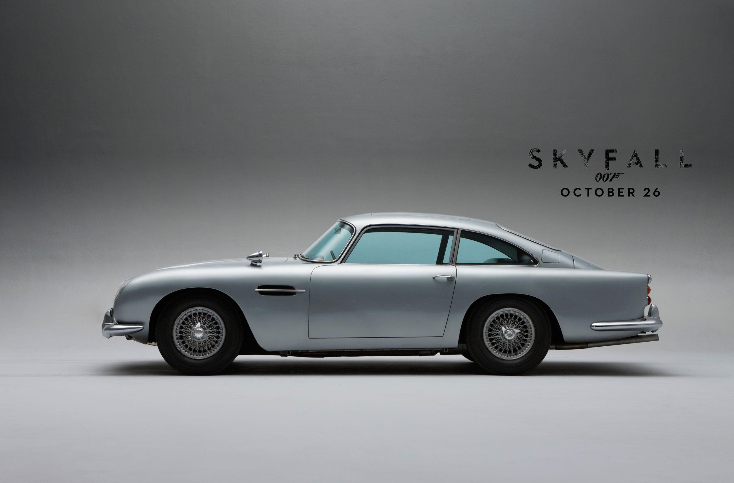 Skyfall   DB5. Learn More At Http://www.astonmartin.com/007 #AstonMartin  #JamesBond #007