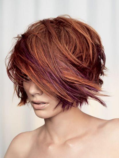 Coiffure cheveux courts avec extensions de cheveux