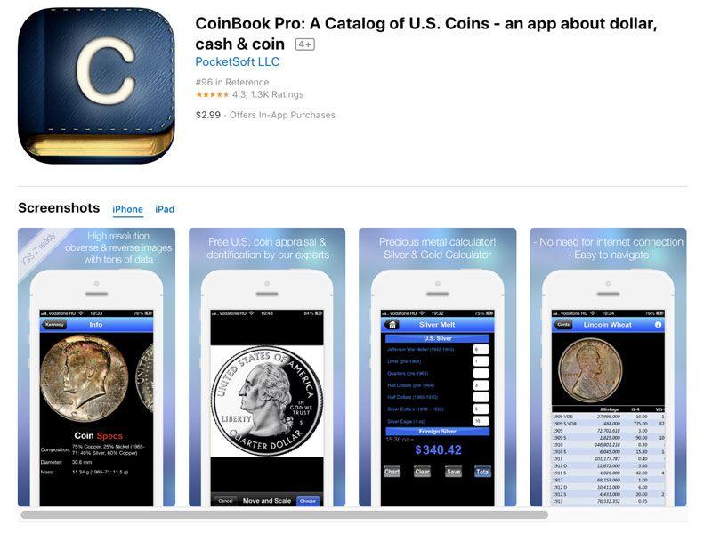 rinsing app coins