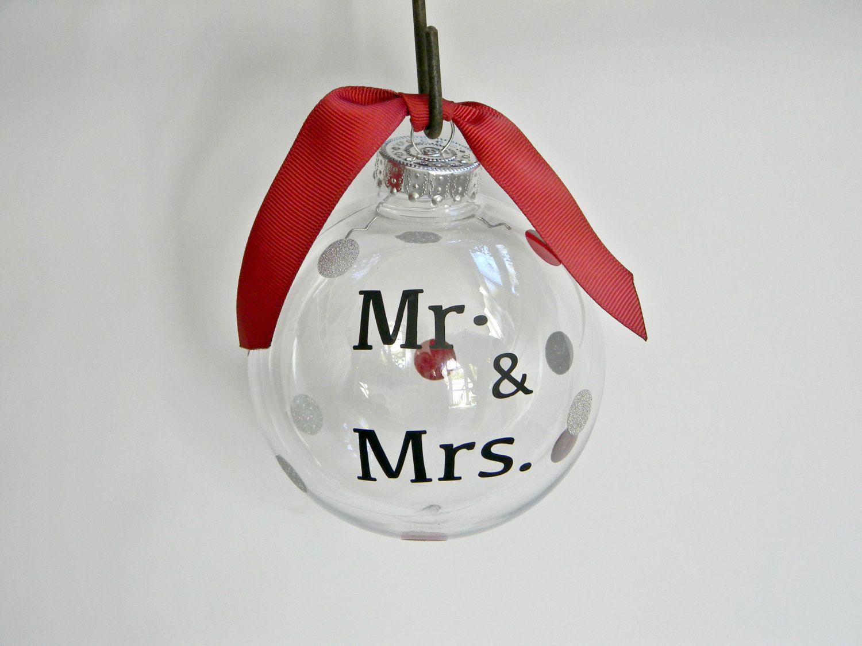 Christmas Ornament - Snow Ornament - Vinyl Ornament - Word Ornament ...