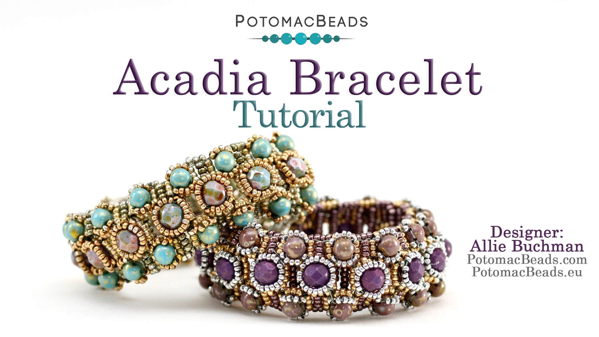 Acadia Bracelet Tutorial Diy Jewelry