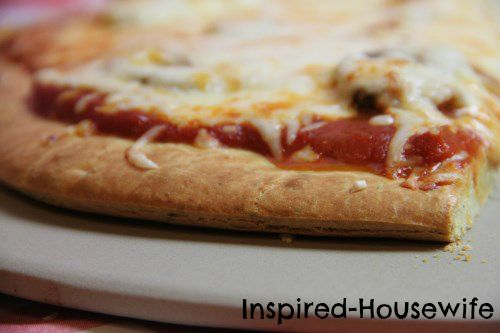 The Best Gluten Free Pizza Crust make it super thin. But amazing and easy.