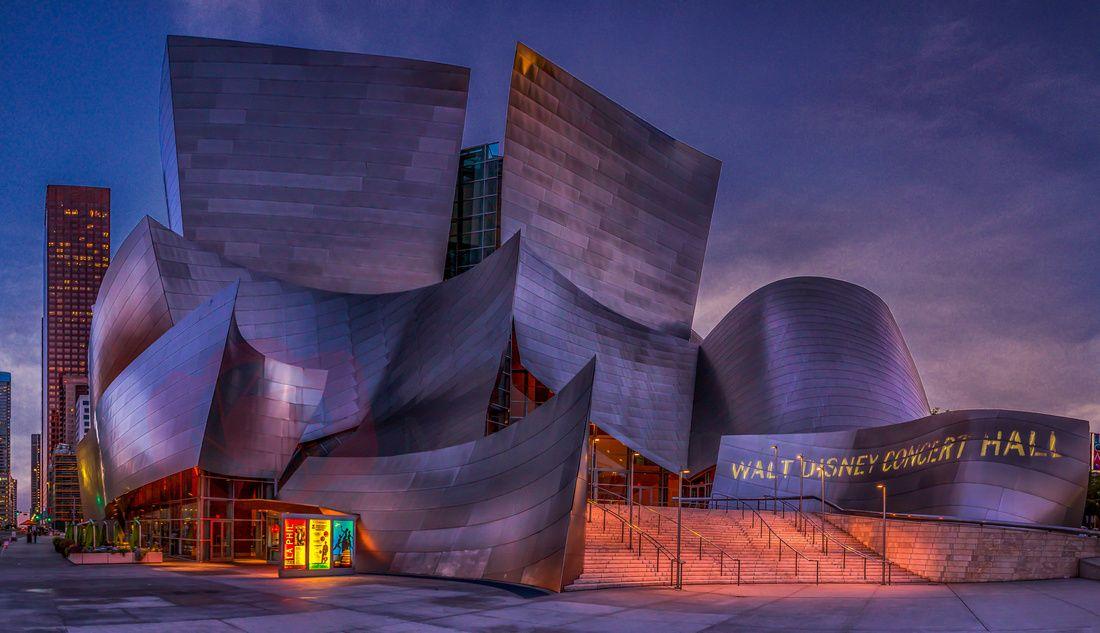 Southern California Walt Disney Concert Hall, LA Walt