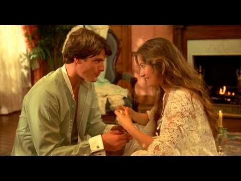Christopher Reeve and Jane Seymour in Somewhere in Time - Picnic On The Carpet [HD] - YouTube