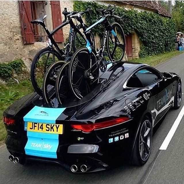 jesus if you can afford the car can 39 t you afford a better way to transport the bicycles. Black Bedroom Furniture Sets. Home Design Ideas
