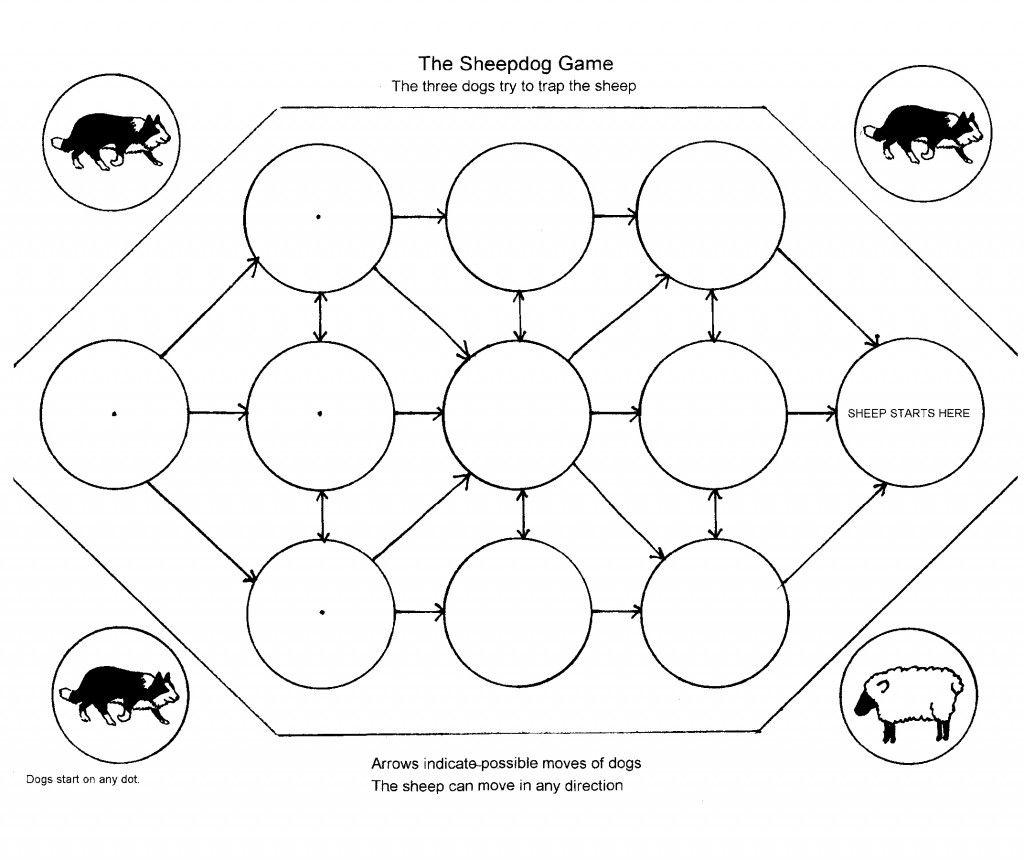 Sheep Herding Math Strategy Game