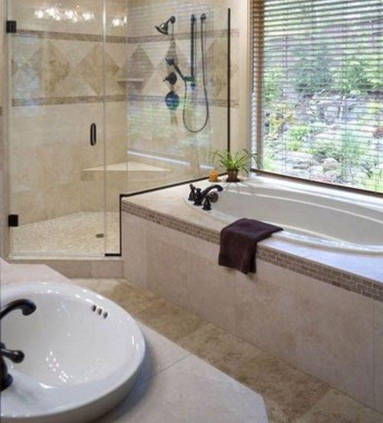 40 Interesting Bathroom Garden Tub Decorating Ideas