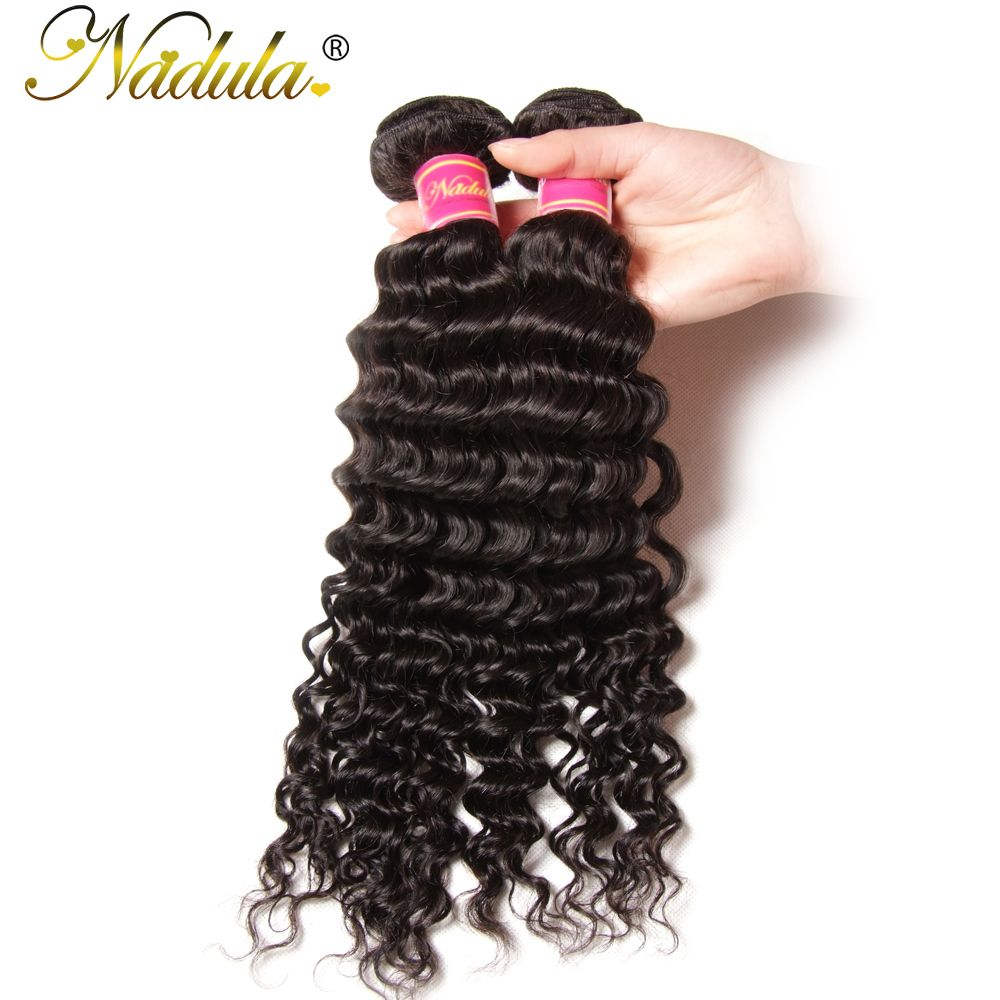 Nadula Hair 1Piece Deep Wave Hair Extensions 100 Indian