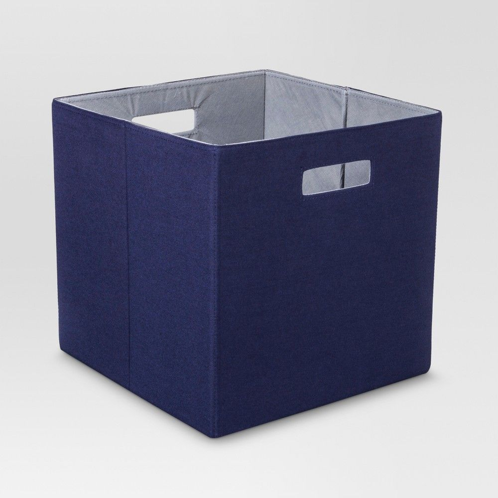 13 Fabric Cube Storage Bin Brown Threshold In 2020 Cube Storage Bins Cube Storage Closet Storage Systems