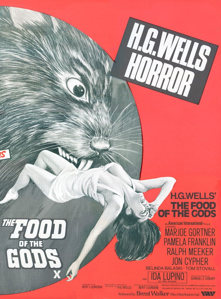 The Food Of The Gods Old Cartoon Movies Science Fiction Movie