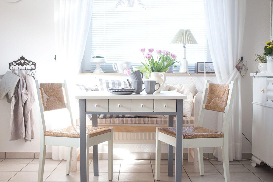 Der Neue Alte Kuchentisch Ein Paar Impressionen Aus Der Kuche Cozy And Cuddly Zuhause Kuche Tisch Wohnung