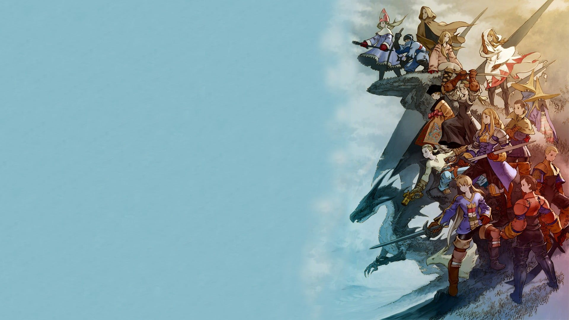 Anime Hd Wallpaper Final Fantasy Final Fantasy Tactics War Of The
