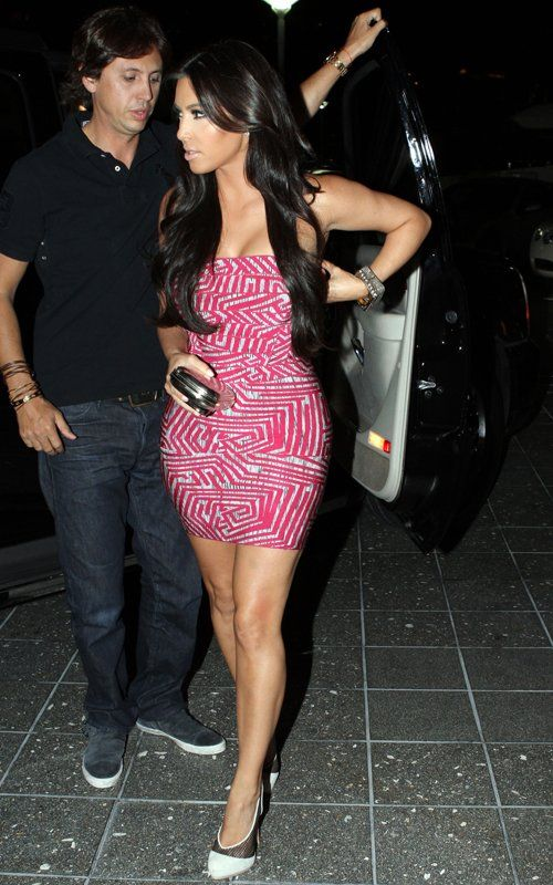 Kim Kardashian Red Printed and Strapless Mini Dress [Red Printed and Strapless Mini Dress] - $152.00 : Cheap Formal Dresses, Discounted Prom Dresses at DressesBarnCheap