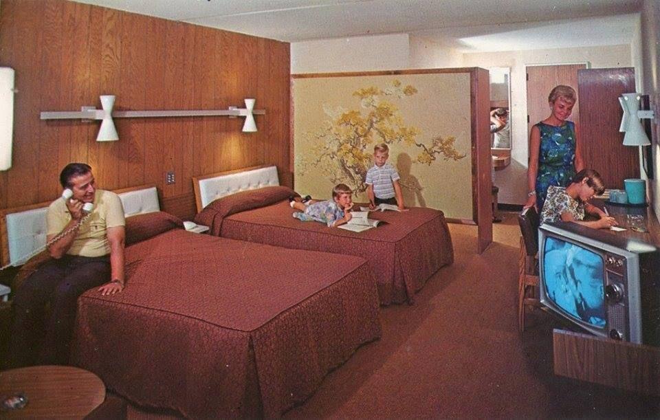 Typical Hotel Room Of The 1960s Vintage Vortex Vintage Hotels