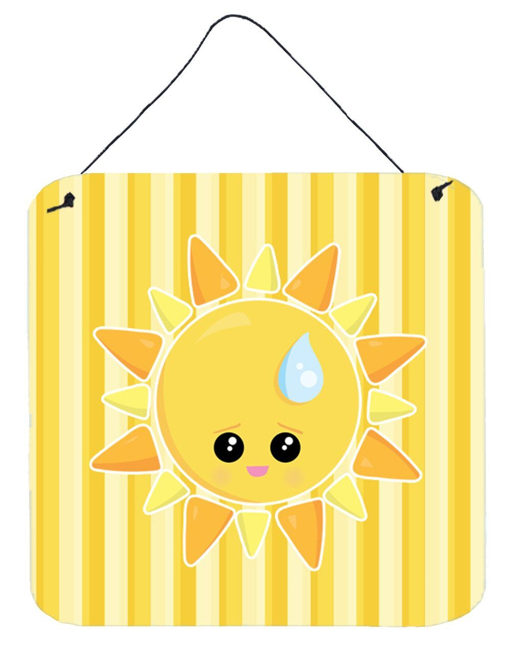 Weather Sun Sprinkle Face Wall or Door Hanging Prints BB7150DS66 ...