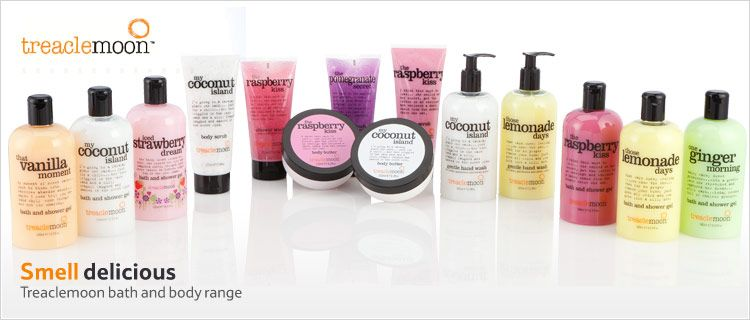 Treaclemoon Range At Tesco Bath And Body Body Skin Care