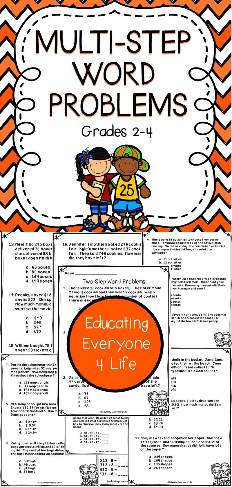 worksheet Multi Step Word Problems multi step word problems problem solving skills problems