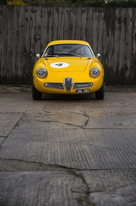alfa romeo giulietta sz berlinetta - carrozzeria zagato - 1961