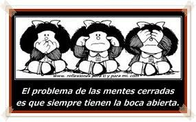 felicies fiestas mafalda - Buscar con Google   Laugh of the day, Closed  minded people, Words worth