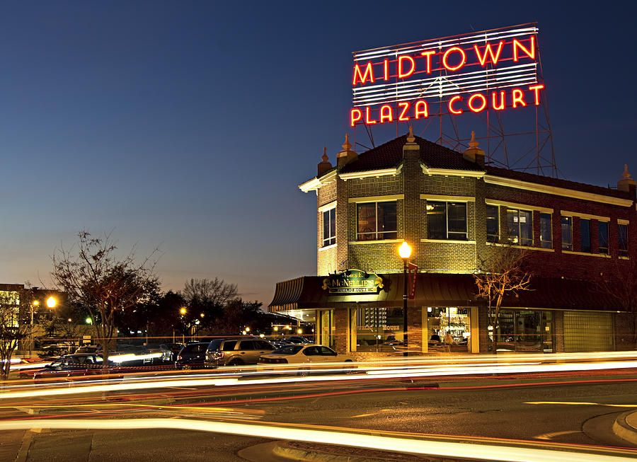 Midtown Plaza By Ricky Barnard Oklahoma Broadway Summer Bucket Lists