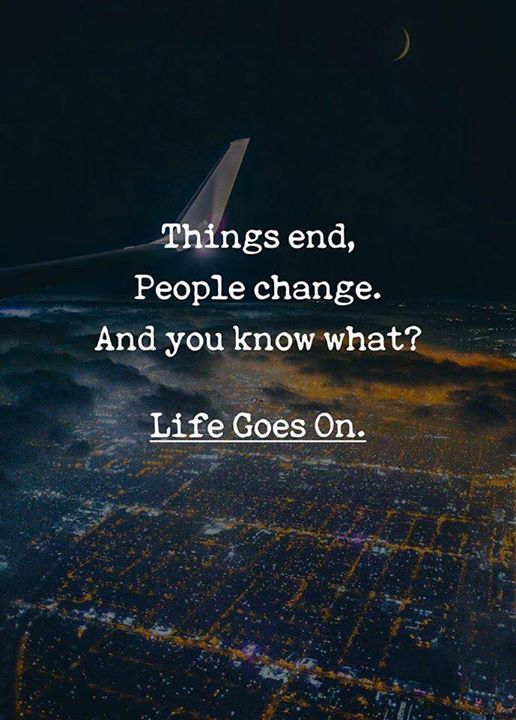 Things End People Change Quotes Pinterest Quotes