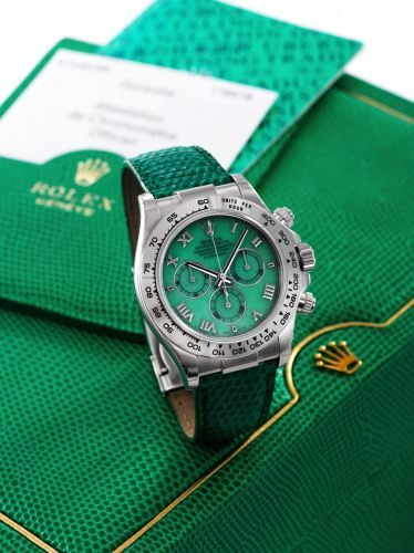 Rolex Daytona Beach 116519 Green