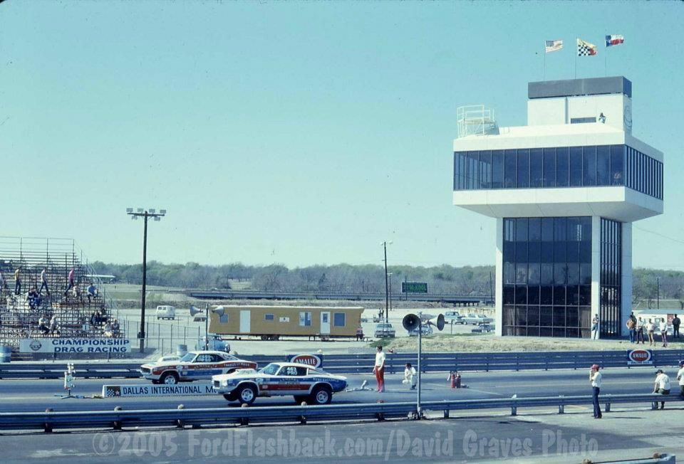 The Million Dollar Tower At Dallas International 1971 Drag