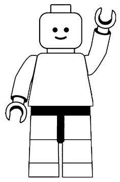 Candid image intended for lego man printable