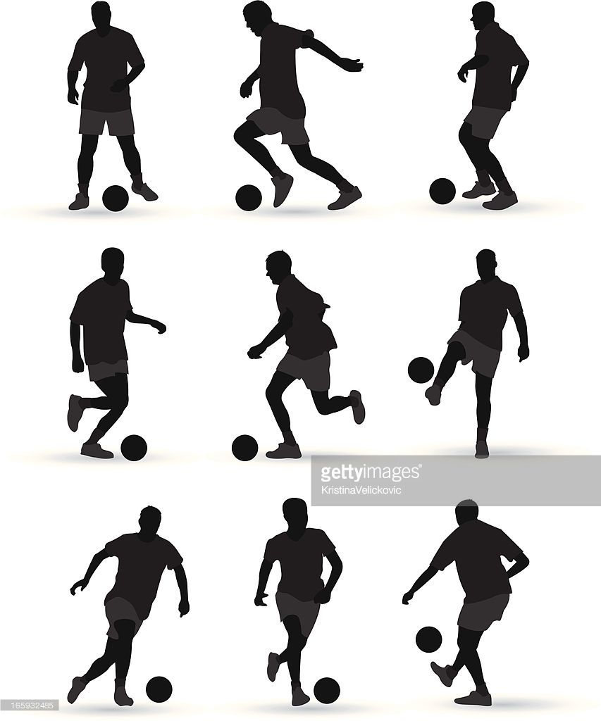 Arte vectorial : Jugadores de fútbol   PHOTOSHOP   Pinterest ...