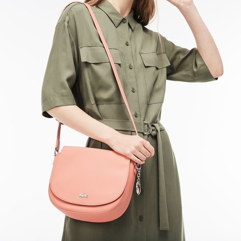 393b6de96 Women s Daily Classic Coated Piqué Canvas Round Crossover Bag ...