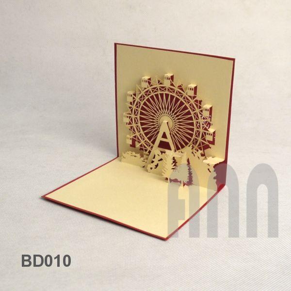 Cards Wheel Paper Art