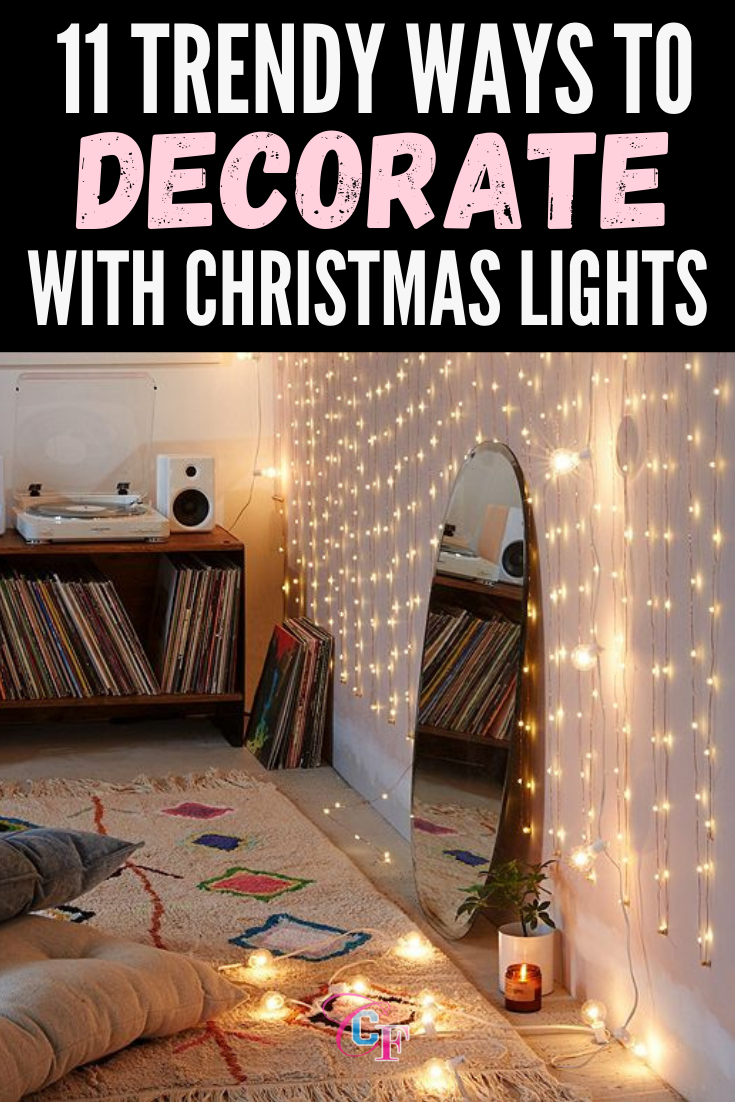 How To Light Your Room With Christmas Lights 11 Cute Cozy Decor Ideas In 2020 Dorm Apartment Decor Decorating With Christmas Lights Cozy Decor