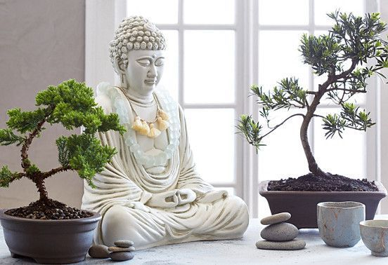 Artificial Yucca In The Pot Buddha Decor Meditation Room Decor