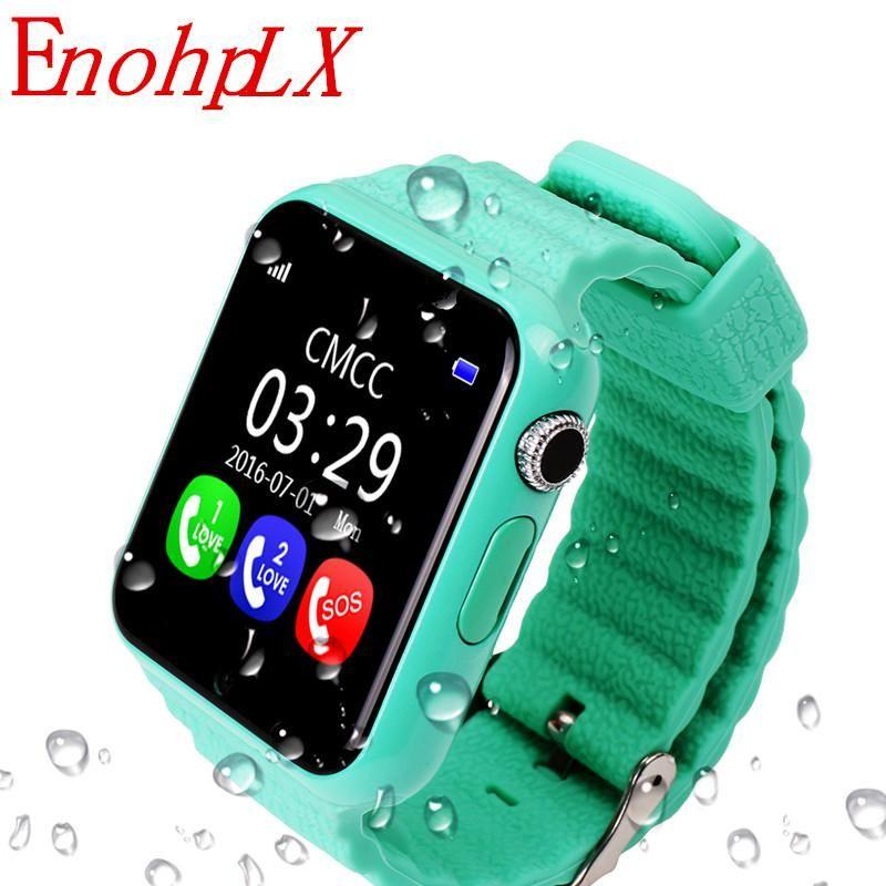 EnohpLX New V7K Bluetooth Smart Watch GPS Tracker