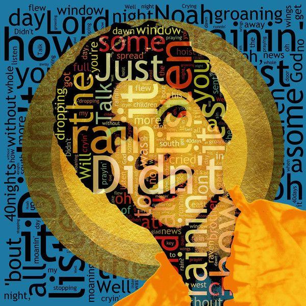 'Didn't It Rain' - Sister Rosetta Tharpe (2015) - Editions of only 20 - Big Fat Arts   BFA Gallery   Czar Catstick - 1