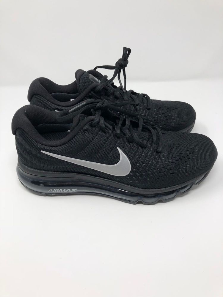 Nike Air Max 2017 Women's Running Shoes Black Anthracite