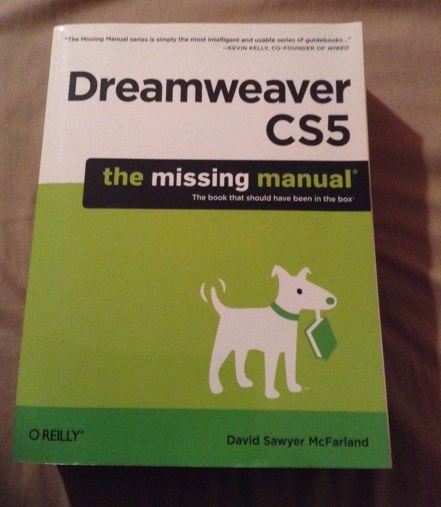 Dreamweaver Cs5 By David Sawyer Mcfarland Paperback Books Sawyer Dreamweaver