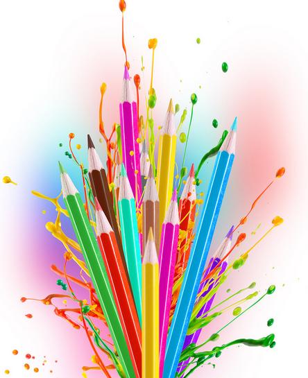 po me les crayons de couleur lecture partag e les crayons de couleur et crayon de couleur. Black Bedroom Furniture Sets. Home Design Ideas