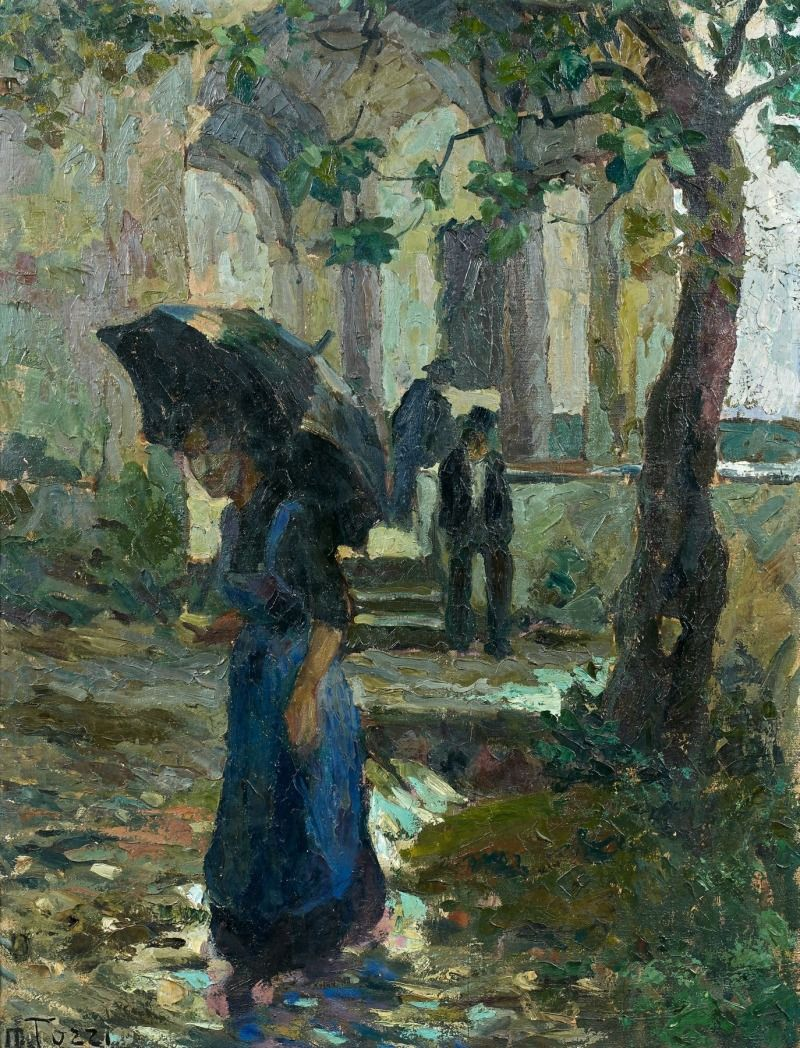 In front of san fabiano mario tozzi 1914 muse