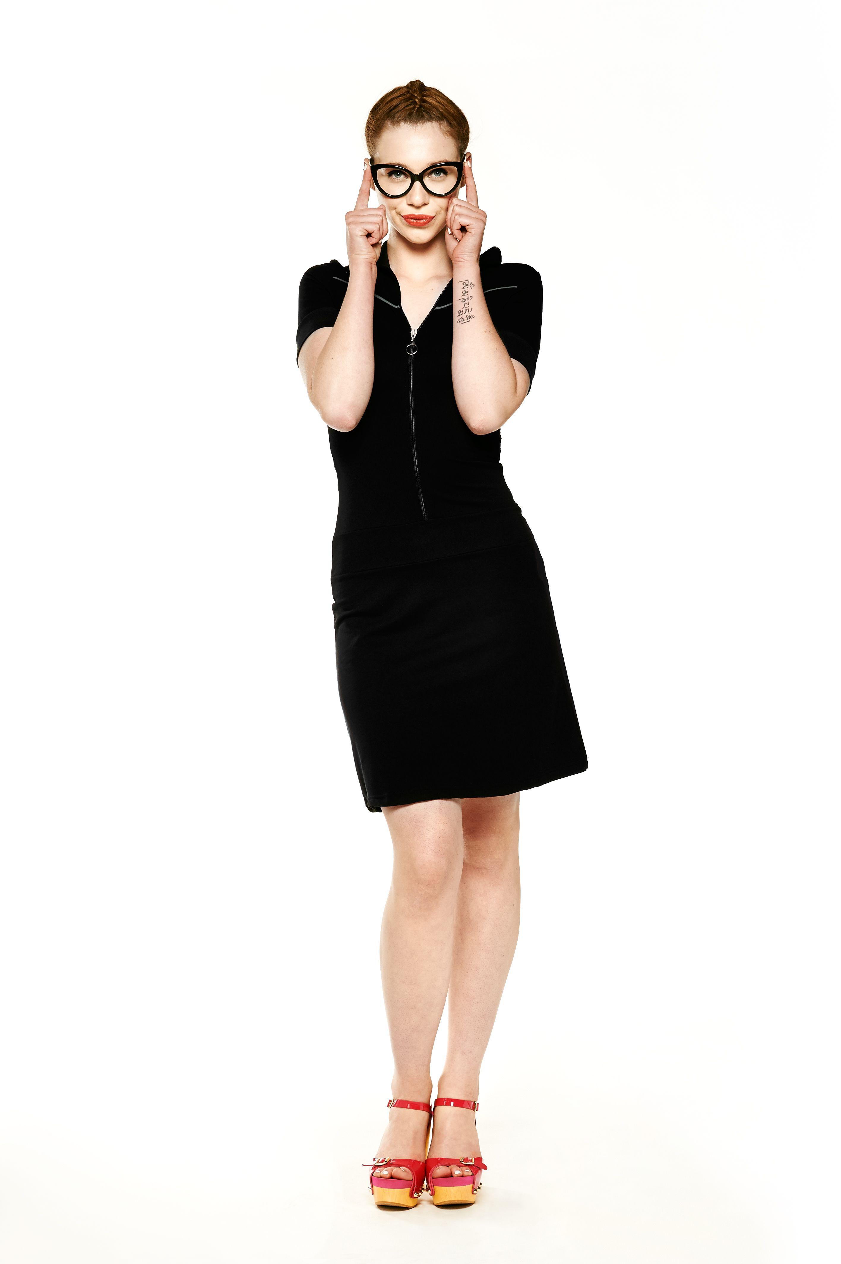 092fc483654a74 Tante Betsy Dress Vera Black