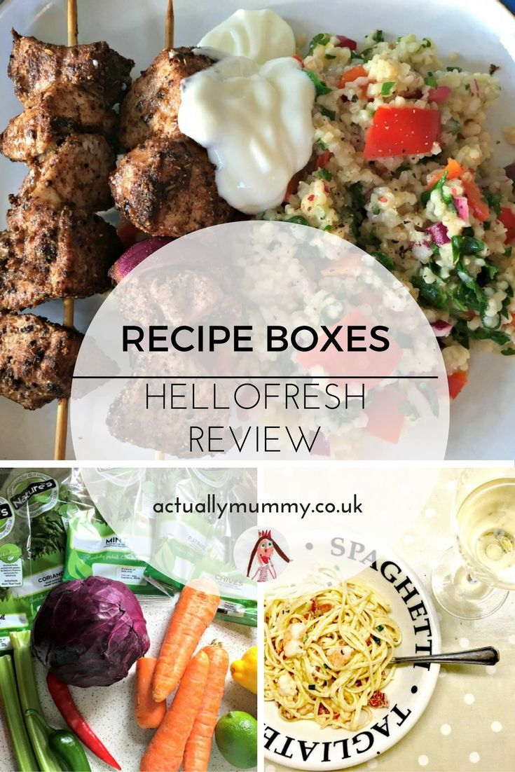 Shaking up mealtimes hellofresh recipe box review pinterest have you ever tried a recipe box theres lots of choice from organic forumfinder Choice Image